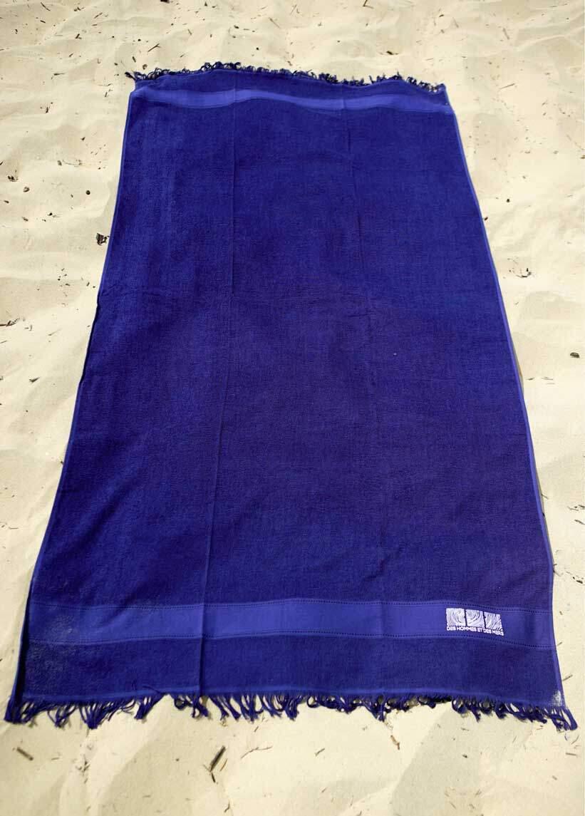 Drap de bain bleu DHEDM