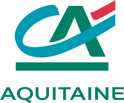 Logo Crédit Agricole Aquitaine Filière Mer